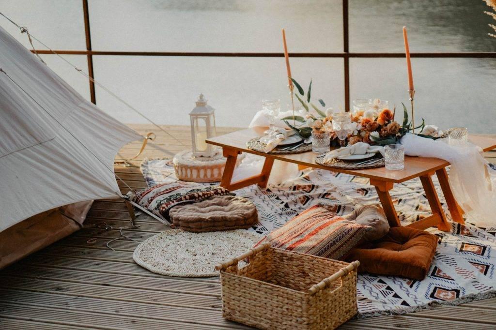 Picnic Setting 須另加費用,可作野餐之用。(圖片來源:相關機構)