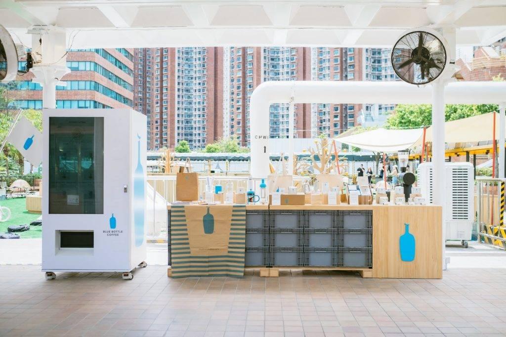 Blue Bottle Coffee 沙田限定戶外咖啡店(圖片來源:官方提供)