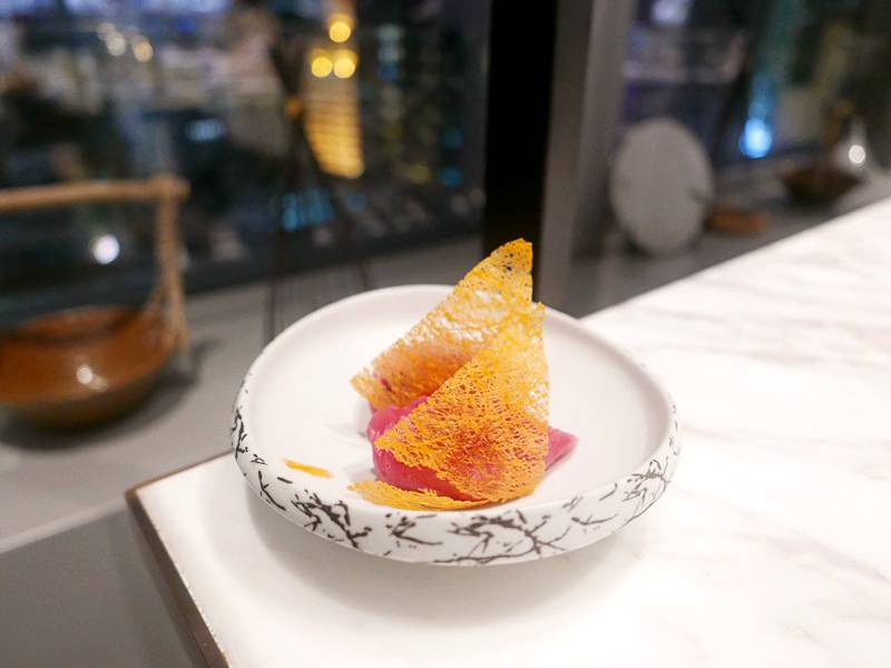 紅菜頭煎鍋貼(圖片來源:Eunice授權)