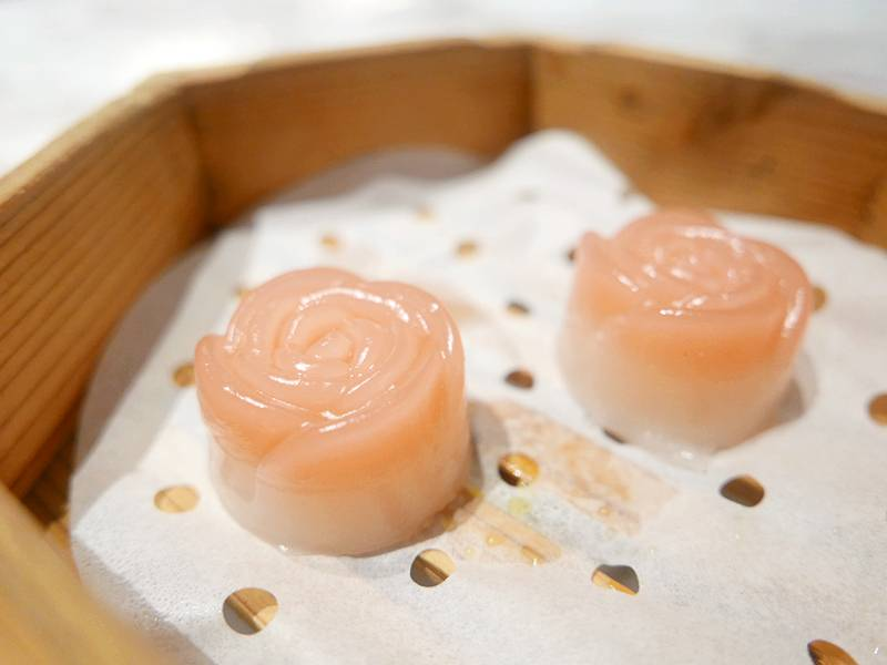 玫瑰奶皇糕(圖片來源:Eunice授權)